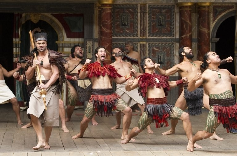 Maori Troilus and Cressida haka